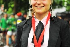 29 šťastná Verča s medailí na 36 místě